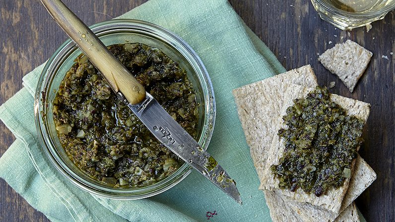 Tartare d'algues fraîches
