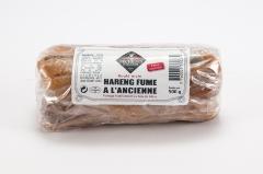 Filets de hareng fumé doux ballotin roulé main 500g