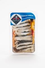Filets d'anchois marinés provençale 200g