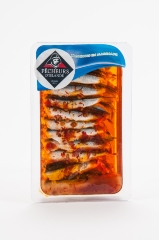 Filets d'anchois marinés orientale 200g