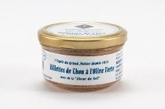 Rillettes de thon aux olives vertes 140g