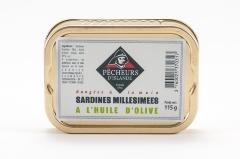 Sardines millésimées à l'huile d'olive 115g