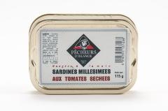 Sardines millésimées aux tomates séchées 115g