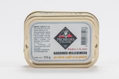 Sardines millésimées au citron confit et piment 115g