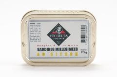 Sardines millésimées au citron 115g