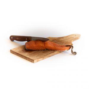 Pavés de saumon fumés à la ficelle / le kg
