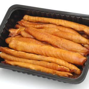 Flancs de saumonette fumé / le kg