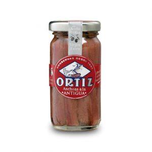 Anchois à l'ancienne à l'huile d'olive 95g ORTIZ