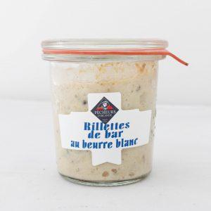 Rillettes de bar au beurre blanc 100g