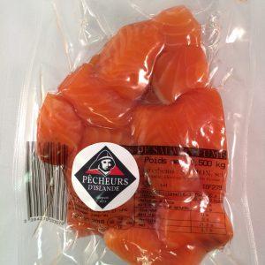 Chutes de saumon fumé s/v 500g