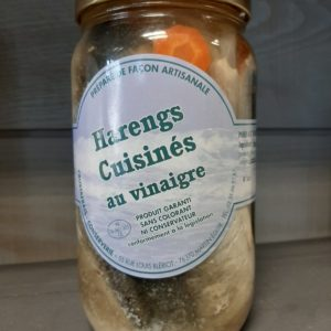 Harengs marines au vinaigre 800g