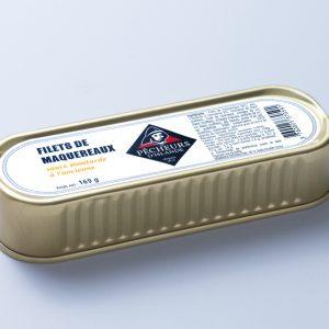 Filets de maquereaux sauce moutarde à l'ancienne 169g