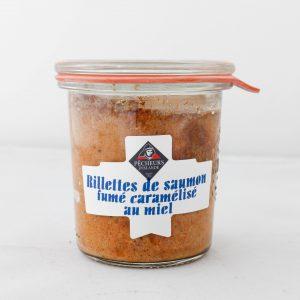 Rillettes de saumon fumé caramélisé au miel 100g