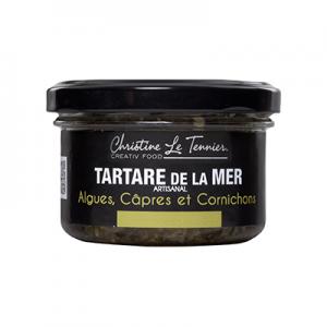 Tartare algues, Câpres et Cornichons 90g