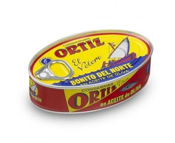 Thon blanc germon à l'huile d'olive 112g ORTIZ