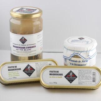 Produits cuisinés et marinés