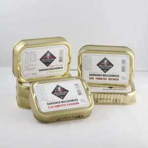 Assortiment de 5 sardines millésimées