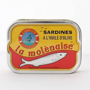 Sardines La Molénaise 115g