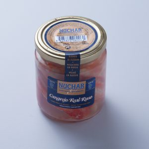 Pattes de Crabe Royal Kamchatka au naturel 140g