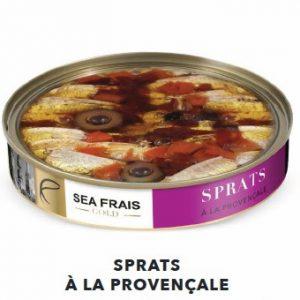 Sprats à la provençale 120g