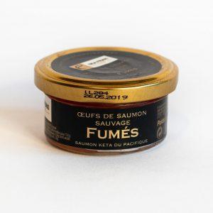 Oeufs de saumon fumés 50g