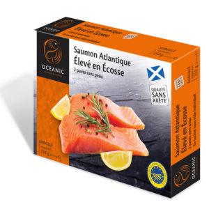 Pavés de saumon Écossais 250g