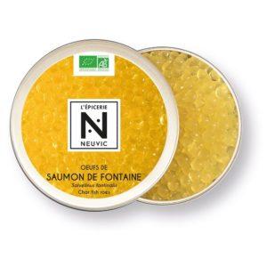 Oeufs de saumon de fontaine (Origine France) 50g