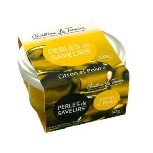 Perles de Saveurs Citron et Poivre 50g
