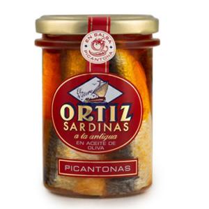 Sardines à l'ancienne au piment 190g ORTIZ