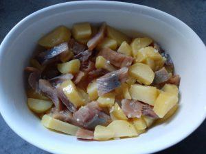 Salade de Harengs à la Fécampoise