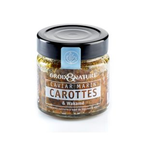 Caviar marin Carottes et Wakamé 100grs