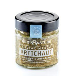 Caviar Marin Artichaut et laitue de mer 100grs