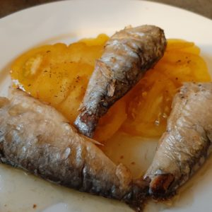 Sardines à l'ancienne Ortiz 140grs