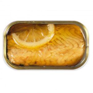 Esturgeon Mariné huile d'olive et citron 120grs